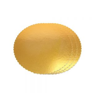 ტორტის დასაფენი ოქროსფ. 28 სმ